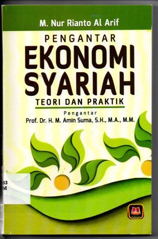 Pengantar Ekonomi Sayariah Teori Dan Praktik